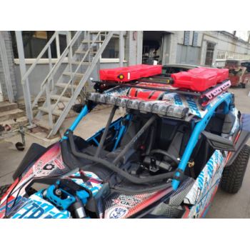 Багажник на крышу (красный) для Can-Am (BRP) Maverick X3