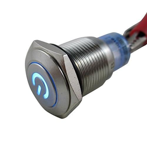Кнопка универсальная металлическая DIGITEN