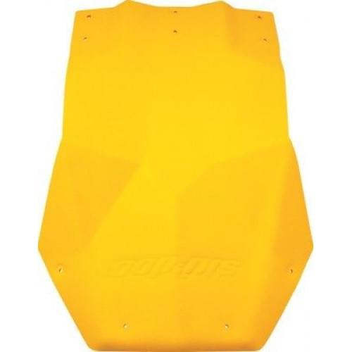 Защита днища снегохода желтая SkiDoo REV / MXZ / GTX 502006741
