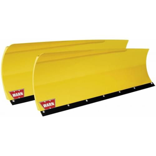 Полный комплект снегоотвала Warn желтый для ATV